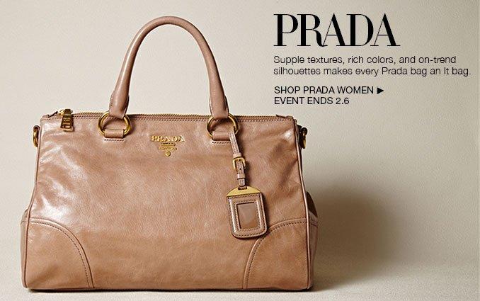 Shop PRADA Bags.