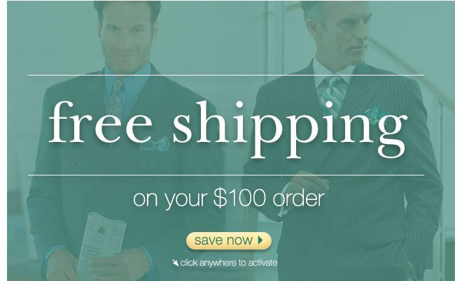 Free Shipping On Your $100 Order: Save Now