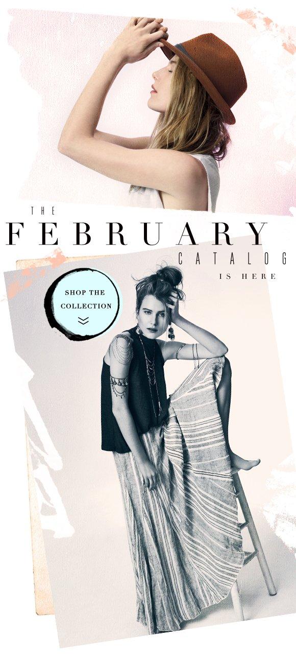 Shop the February Catalog