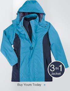 Buy Your 3-in-1 Jacket Today