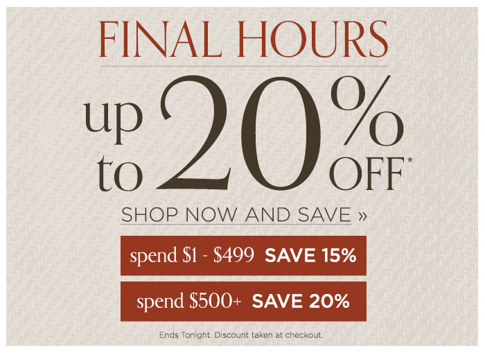 Final Hours save sitewide
