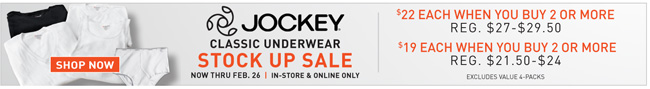 Shop All Sale Jockey
