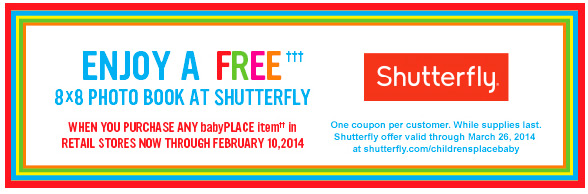 Enjoy a FREE 8x8 Photo Book at Shutterfly!