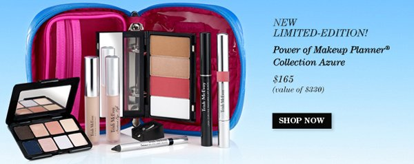 Trish's New! Limited-Edition Power of Makeup Planner® Collection Azure