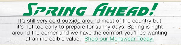 Shop Spring Wear for Great Deals Today!