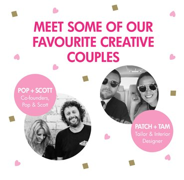 Meet some of our favourite creative couples