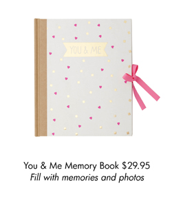 You & Me Memory Book