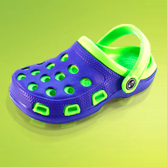 Fun in the Sun: Frisky Boy's Shoes