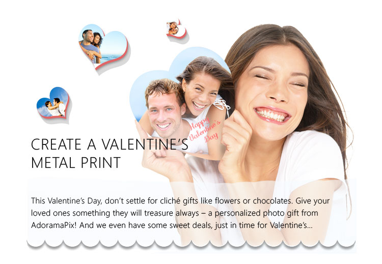 Valentines Day Metal Prints
