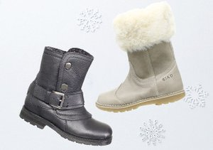 Warm & Toasty: Kids' Shoes