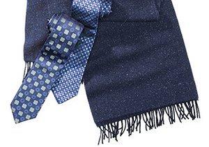 Bold to Basic: Blue Neckwear