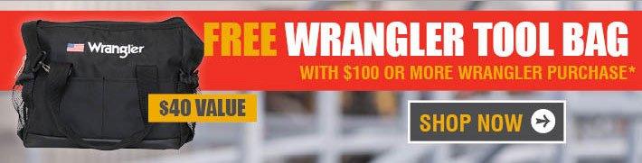 Free Wrangler Tool Bag!