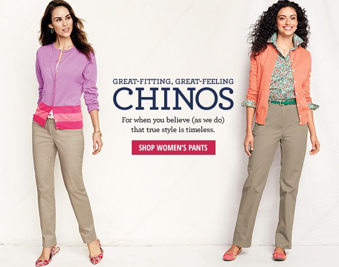 Great-Fitting, Great-Feeling Chinos
