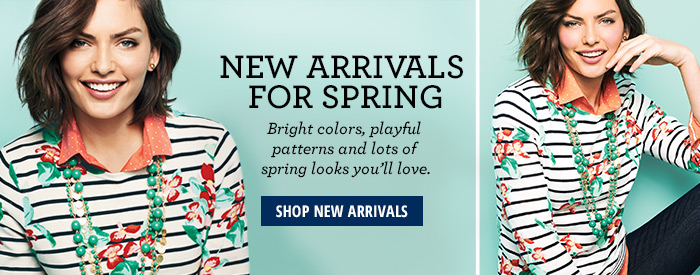 New Arrivals for Spring
