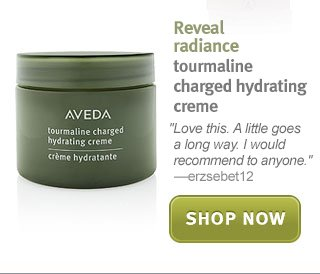 tourmaline charged hydrating creme. shop now.