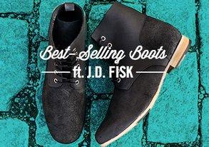 Shop Best-Selling Boots ft. J.D. Fisk
