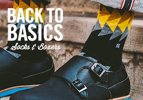 Shop Back to Basics: Socks & Boxers