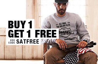 Buy 1 Get 1 Free: Sweatshirts