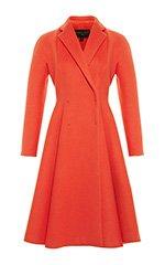 Flared Wool Coat