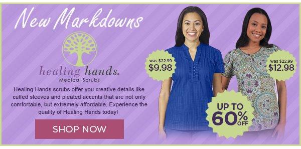Ne wMarkdowns on Healing Hands - Shop Now