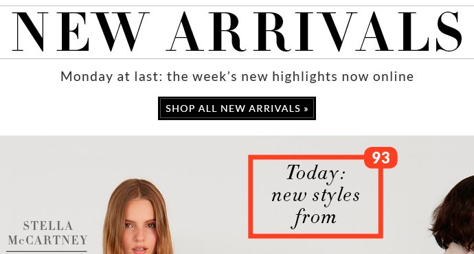 MONDAY AT LAST: THE WEEK'S NEW HIGHLIGHTS NOW ONLINE