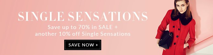 SAVE UP TO 70% IN SALE