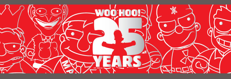 Woo Hoo! 25 years