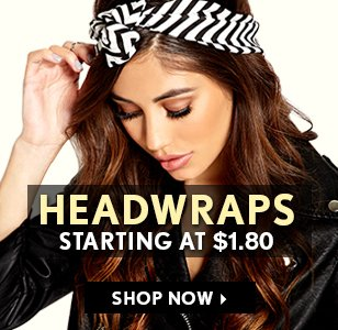 Headwraps Starting at $1.80