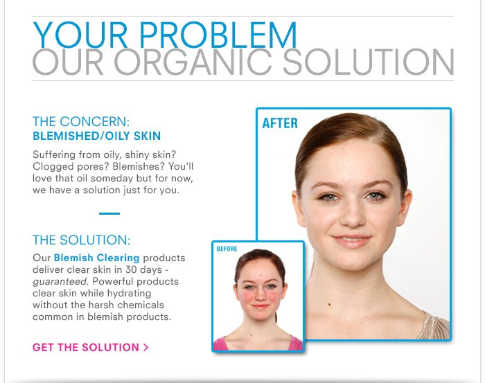 Your Problem, Our Organic Solution
