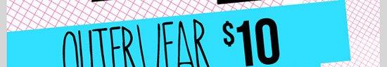 DEALS AND STEALS! OUTERWEAR - $10! Plus $12. Shop Now!