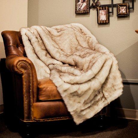 Arctic Fox // Throw Blanket