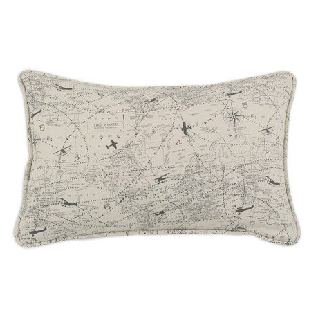 Air Traffic Corded Pillow
