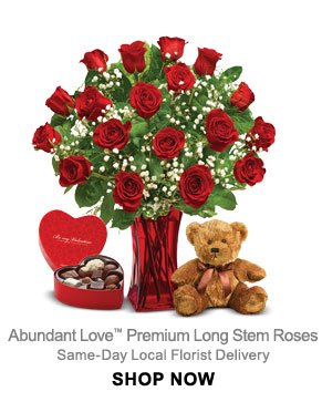 Straight From the Heart™ Same-Day Local Florist Delivery Shop Now