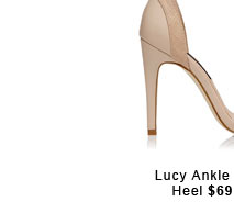 Lucy Ankle Strap.