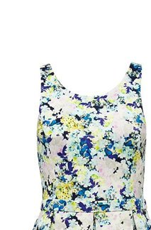 Anna Floral Printed Dress,