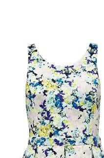 Anna Floral Printed Dress,