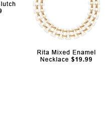 Rita Mixed Enamel