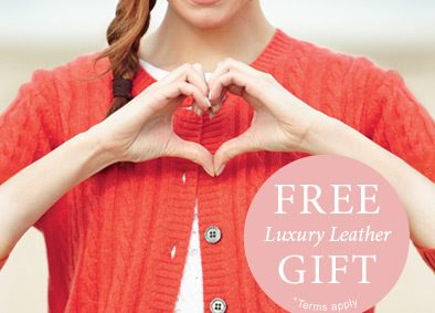 FREE Luxury leather gift. *Terms apply