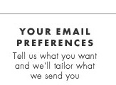 Your email preferences