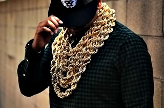 Gold all in my chain