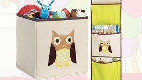 Owl Themed Kids Room Storage