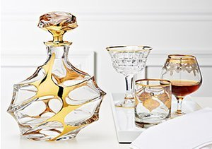 Hand-Cut Crystal: Stemware & More