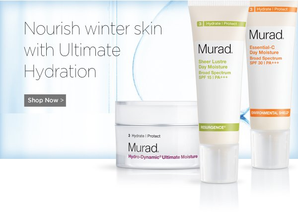Nourish Winter Skin with Ultimate Hydration