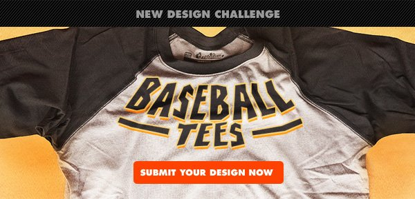New Challenge : Baseball Tees