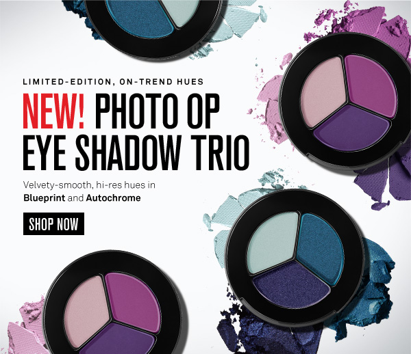 New! Photo Op Eye Shadow Trio Shades