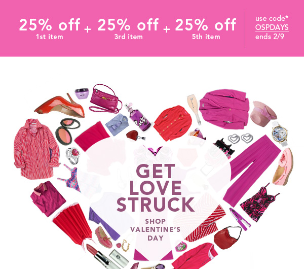 Shop Valentine's Shop