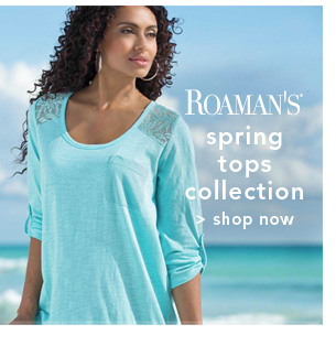 Shop Roaman's Spring Tops Collection