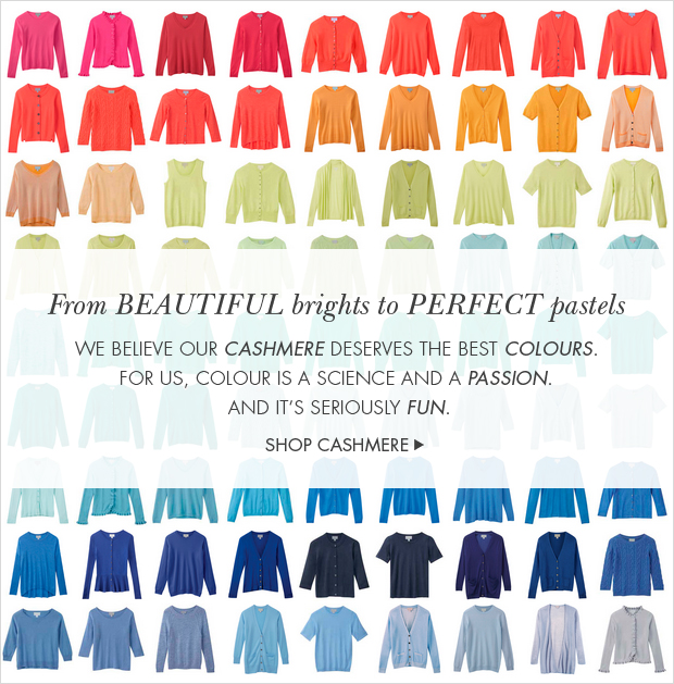 Download Images: Discover a world of Pure colour with 25% off & free shipping & returns + 50% off selected cashmere styles