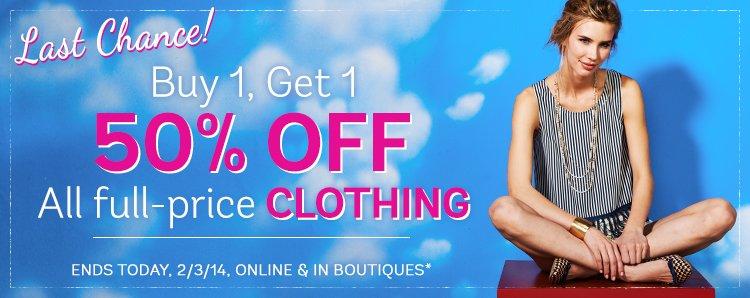 Clothing Promo