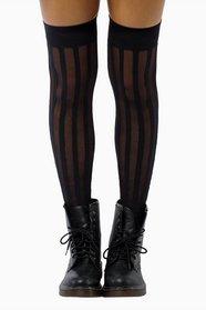 Sheer Stripes Stockings 11